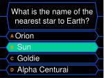 what is the name of the nearest star to earth16