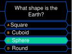 what shape is the earth40