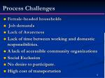 process challenges