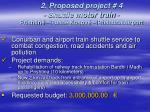 2 proposed project 4 shuttle motor train prishtin fush kosov prishtina airport