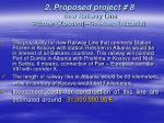 2 proposed project 8 new railway line prizren kosovo rr shen albania