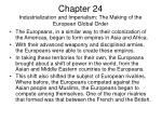 chapter 24 industrialization and imperialism the making of the european global order