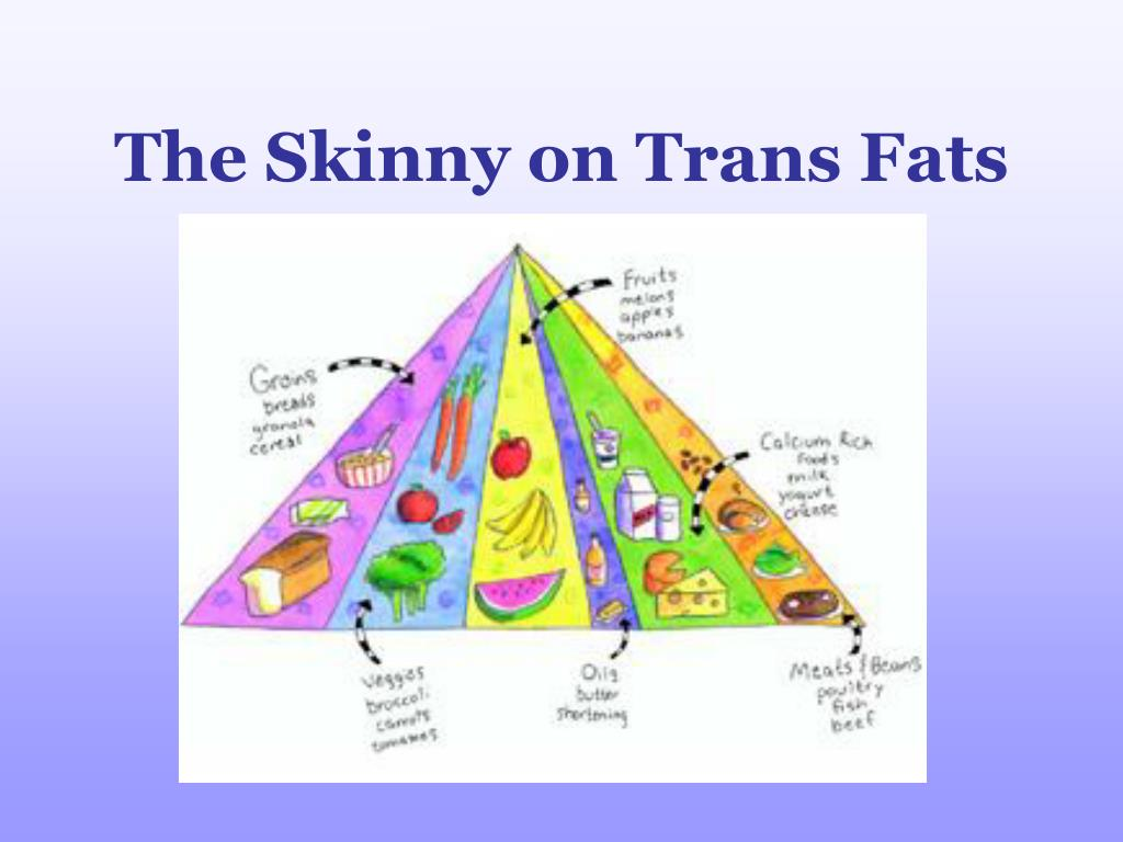 the skinny on trans fats l.