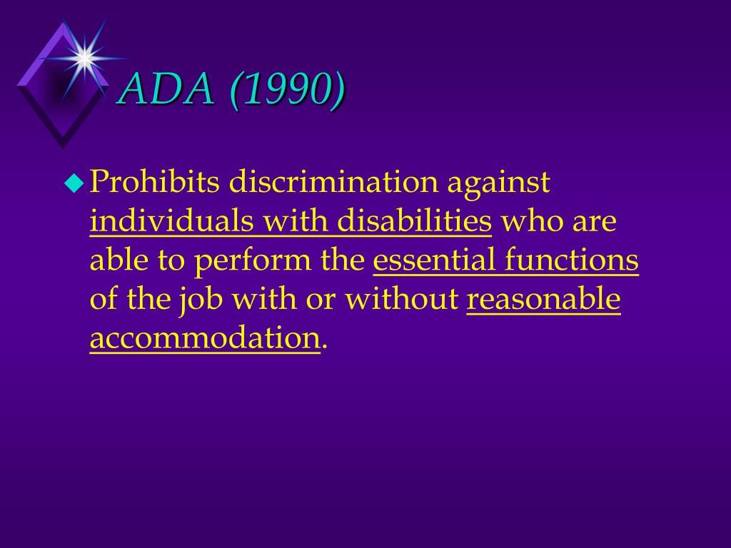 ADA (1990)