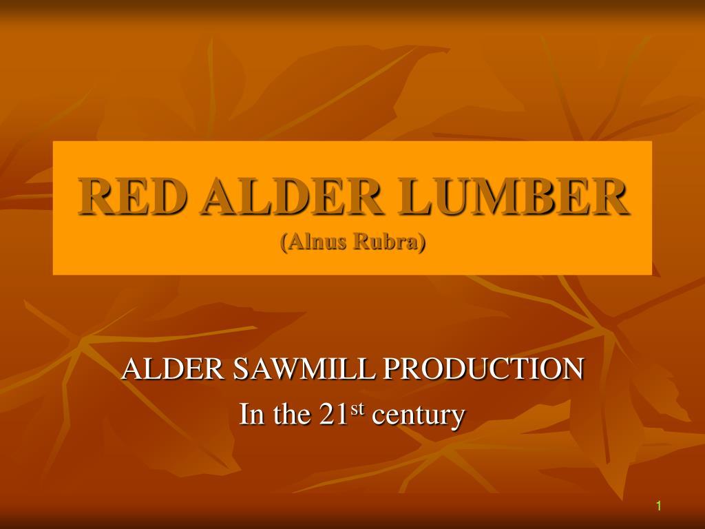 red alder lumber alnus rubra l.