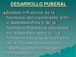 desarrollo puberal33