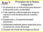 principios de la nueva integraci n