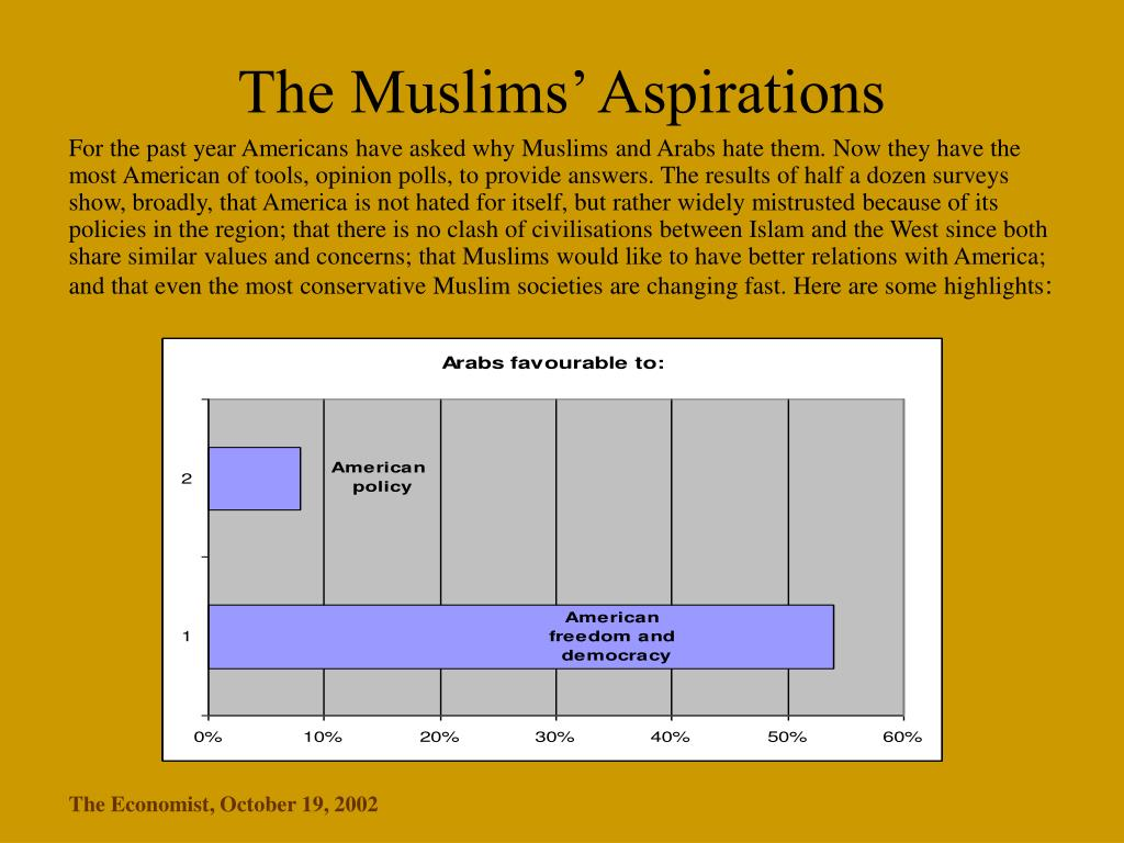 The Muslims' Aspirations