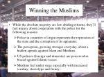 winning the muslims