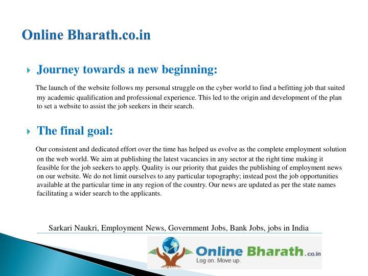 Online bharath co in