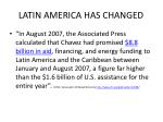 latin america has changed