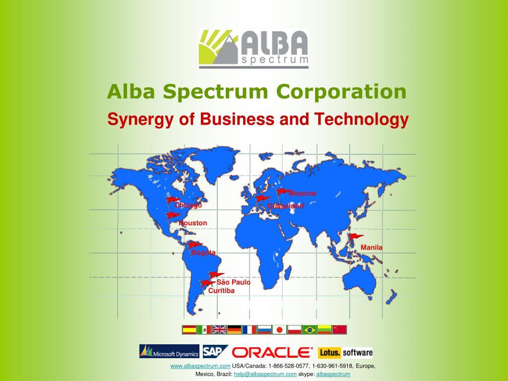 Alba Spectrum Corporation