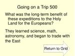 going on a trip 500