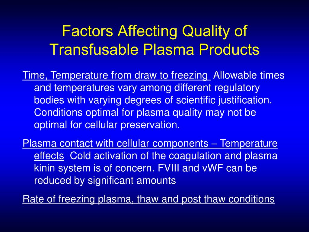 Factors Affecting Quality of