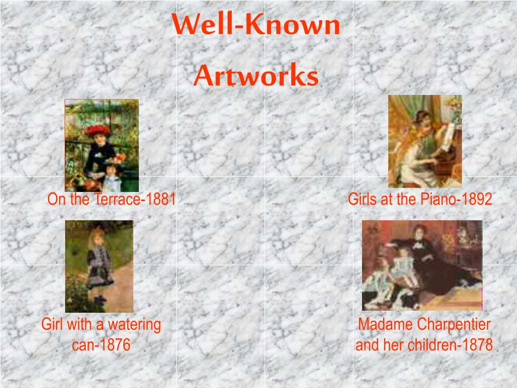 Well-Known Artworks