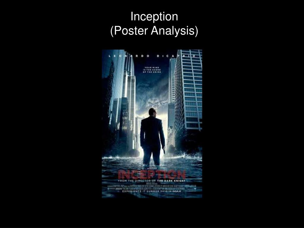 inception poster analysis l.