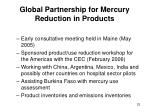 global partnership for mercury reduction in products23