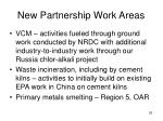 new partnership work areas