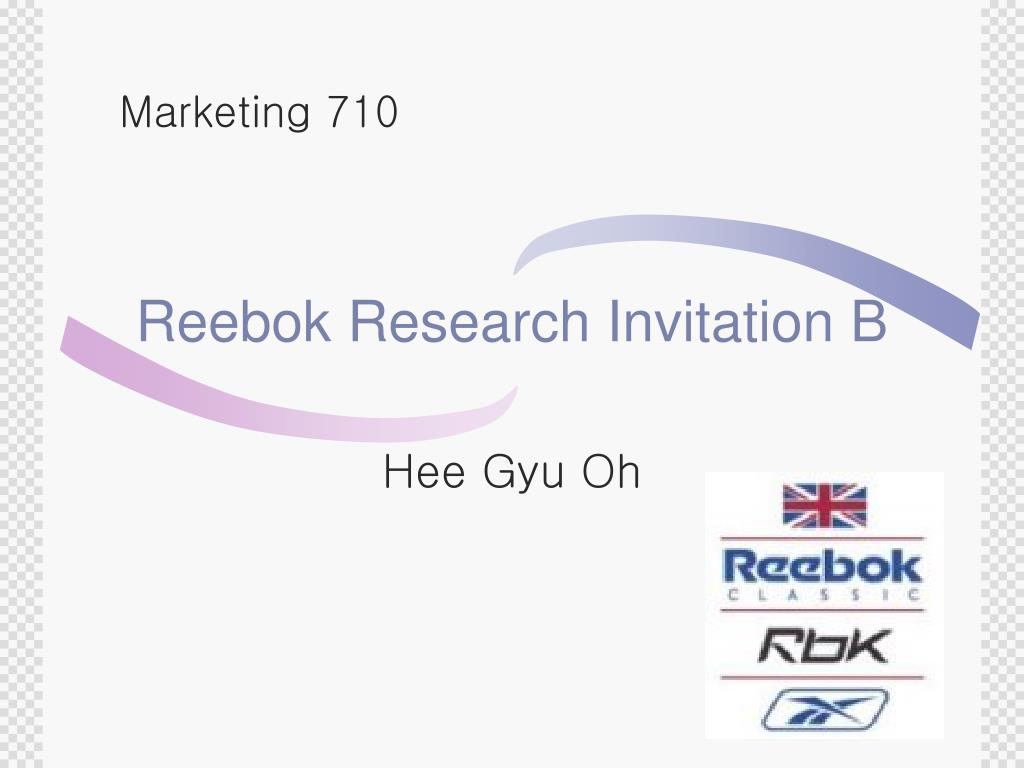 reebok research invitation b l.