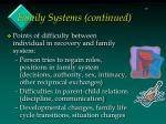 family systems continued15