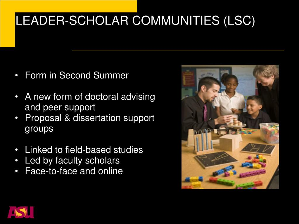 LEADER-SCHOLAR COMMUNITIES (LSC)