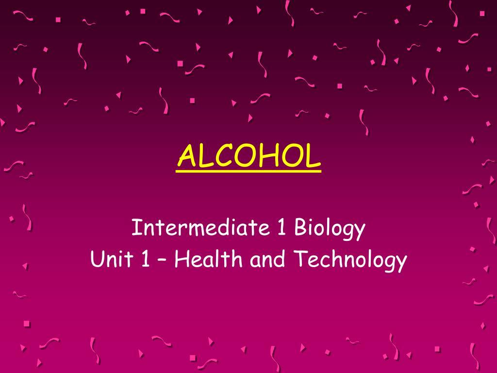 alcohol l.