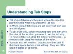 understanding tab stops