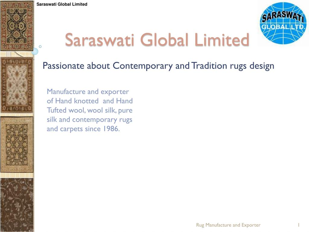 saraswati global limited l.