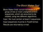 the block maker tool
