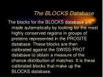 the blocks database