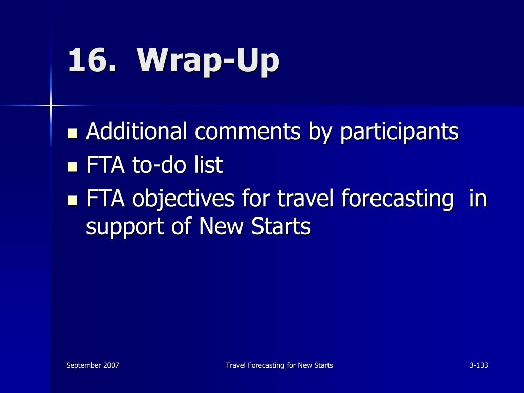 16.  Wrap-Up