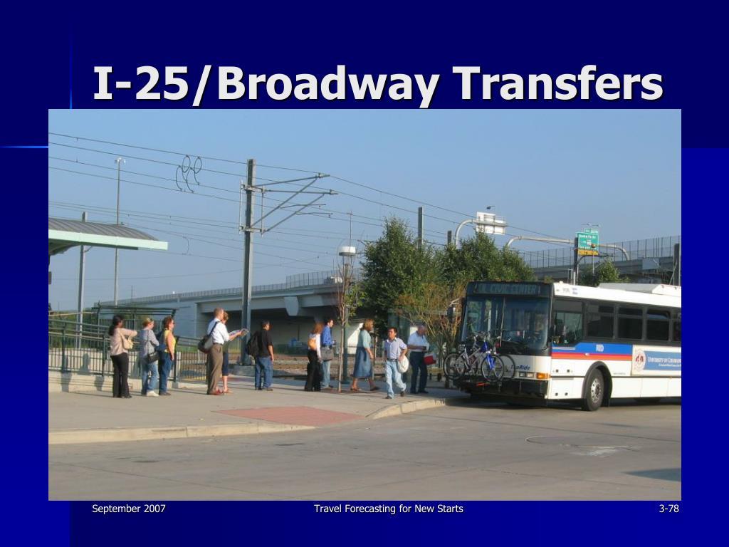 I-25/Broadway Transfers