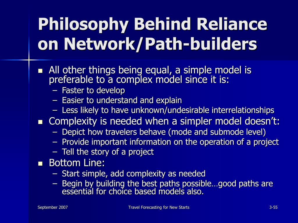 Philosophy Behind Reliance