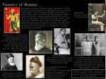 pioneers of mumbai