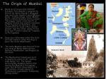 the origin of mumbai