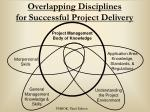 overlapping disciplines for successful project delivery