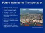 future waterborne transportation