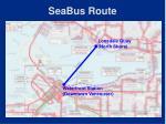 seabus route