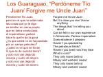 los guaraguao perd neme t o juan forgive me uncle juan