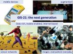 gis 21 the next generation