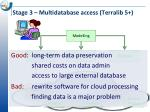 stage 3 multidatabase access terralib 551
