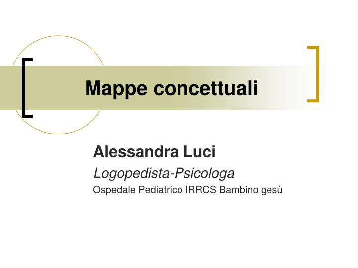 mappe concettuali n.