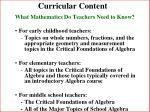 curricular content15