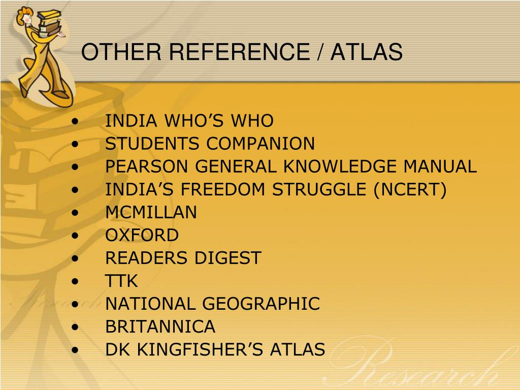OTHER REFERENCE / ATLAS
