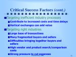 critical success factors cont31