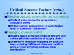 critical success factors cont35