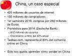 china un caso especial
