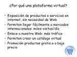 por qu una plataforma virtual