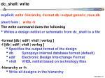 dc shell write