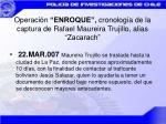 operaci n enroque cronolog a de la captura de rafael maureira trujillo alias zacarach10